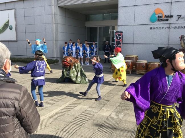 2018 アートフォーラムあざみ野 和太鼓演奏4