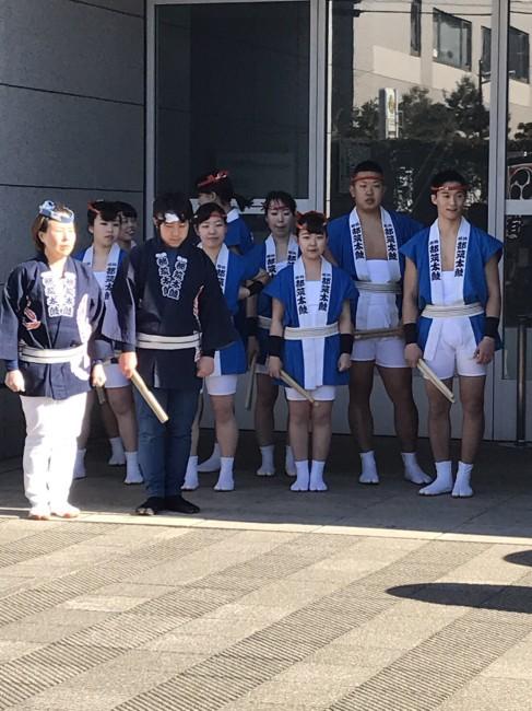 2018 アートフォーラムあざみ野 和太鼓演奏6