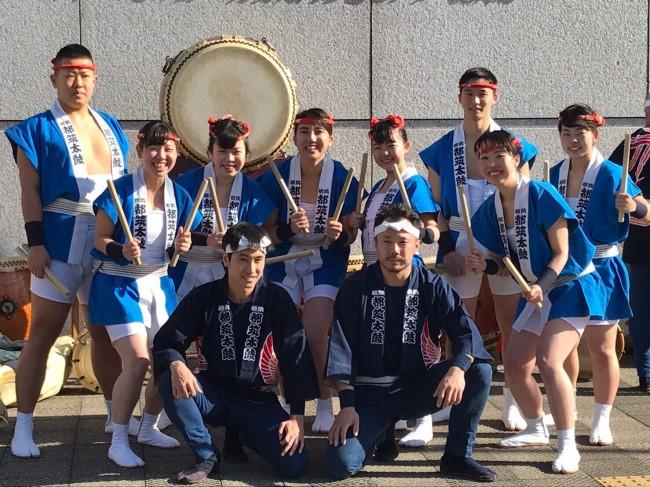 2018 アートフォーラムあざみ野 和太鼓演奏7