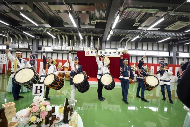 (株)クボテック様新社屋落成式典 和太鼓演奏3