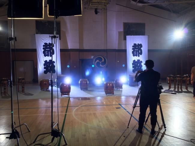 横浜都筑太鼓 プロモーションビデオ撮影3