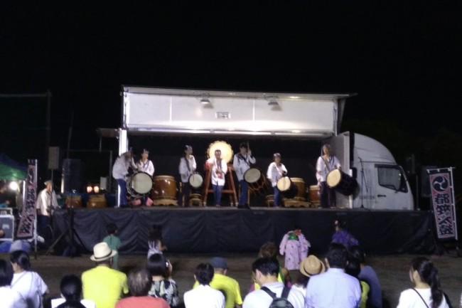 2019夏の和太鼓演奏記録1